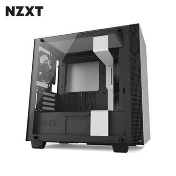 NZXT恩傑 H400 MICRO-ATX 電腦機殼-白 CA-H400B-W1