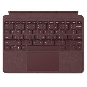 微軟Surface GO 實體鍵盤保護蓋(酒紅)