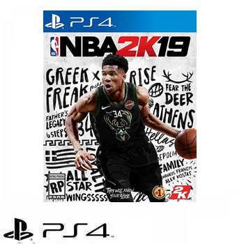 PS4 NBA 2K19 標準版 - 中文版 PLAS-10249