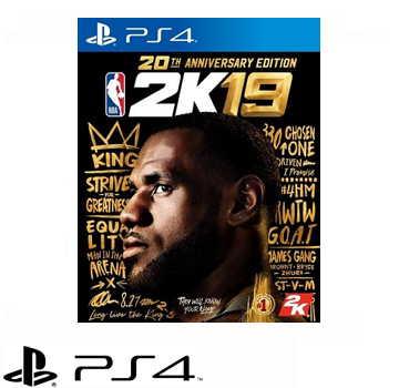 【20週年紀念版】PS4 NBA 2K19 - 中文版