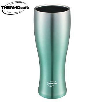 【福利品】凱菲380ml不銹鋼真空冰沁杯-初春綠 JAVA-380ME-GR