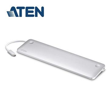 ATEN MacBook 用 USB-C 10合1 擴充基座 UH3234-AT