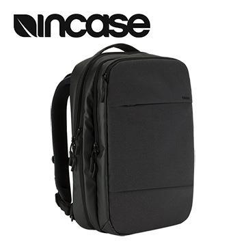【15吋】Incase City Commuter 擴充後背包 - 黑色 INCO100146-BLK