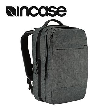【15吋】Incase City Commuter 擴充後背包 - 麻灰色 INCO100146-HBK
