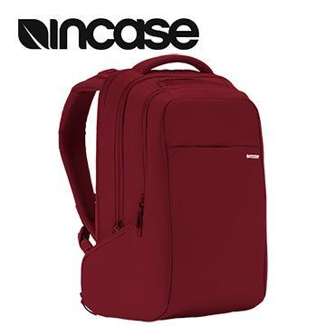 【15吋】Incase ICON 雙層筆電後背包 - 紅色