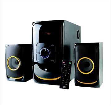 【福利品】JS JY3070 2.1聲道全木質藍牙喇叭