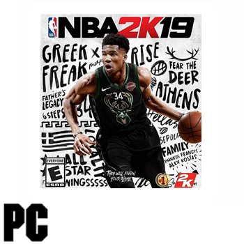 PC NBA 2K19  - 中英文 一般版 1030000000026