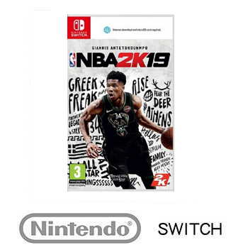 任天堂 Nintendo Switch NBA 2K19  - 中英文 一般版 1030000000027
