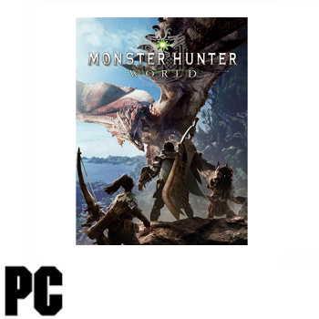 PC 魔物獵人 世界 Monster Hunter: World - 中日英文版
