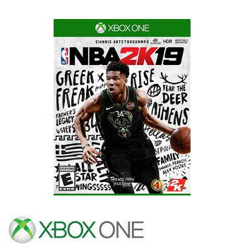 XBOX ONE NBA 2K19 - 中英文 一般版 1030000000024