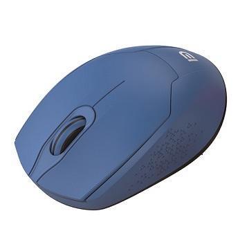 富德FD 無光長距省電無線滑鼠-藍