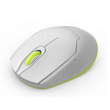 富德FD 無光長距省電無線滑鼠-白 i882-W