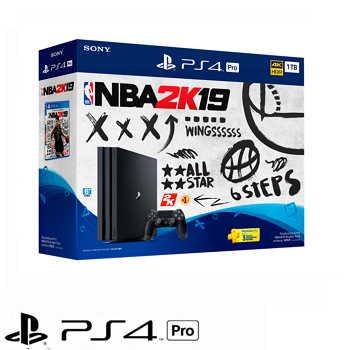 「同捆組」【1TB】PS4 Pro NBA 2K19 主機 PLAS-10249TA