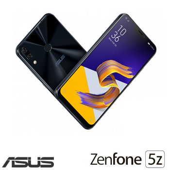 【8G / 256G】ASUS ZenFone 5Z 6.2吋AI雙鏡頭智慧型手機 - 深海藍