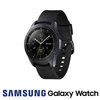 【42mm】SAMSUNG Galaxy Watch 藍牙版智慧手錶 - 午夜黑
