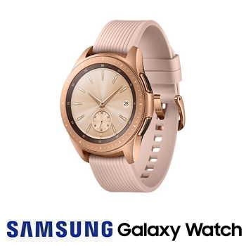 【42mm】SAMSUNG Galaxy Watch 藍牙版智慧手錶 - 玫瑰金