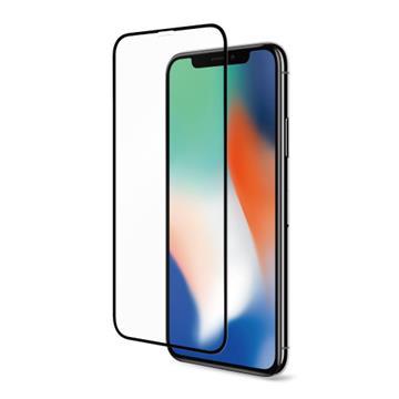 【iPhone XR】Riivan  2.5D滿版玻璃保護貼 - 黑色