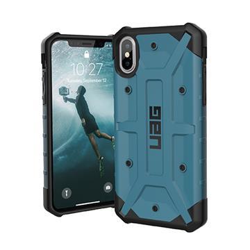 【iPhone XS】UAG 耐衝擊保護殼 - 藍色