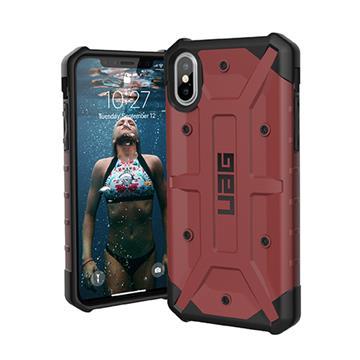 【iPhone XS】UAG 耐衝擊保護殼 - 紅色