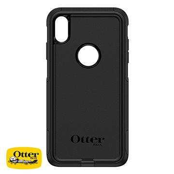 【iPhone XS Max】OtterBox Commuter防摔殼 - 黑色