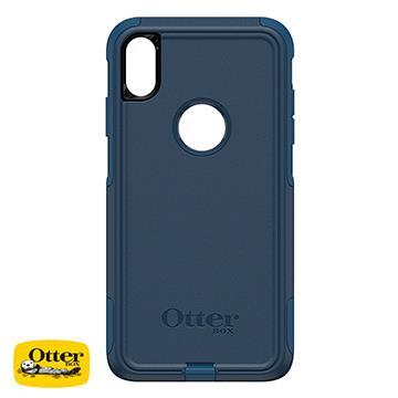 【iPhone XS Max】OtterBox Commuter防摔殼 - 藍色