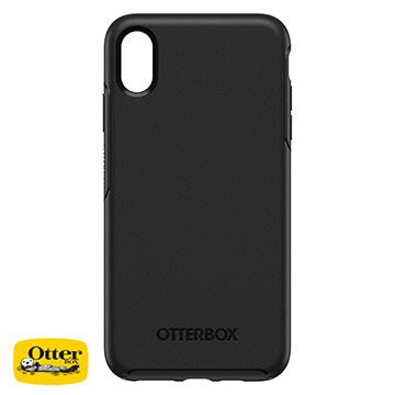 【iPhone XS Max】OtterBox Symmetry防摔殼 - 黑色