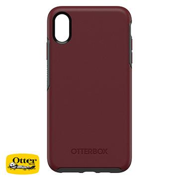 【iPhone XS Max】OtterBox Symmetry防摔殼 - 紅色