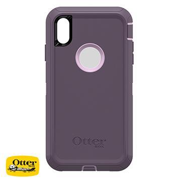 【iPhone XS Max】OtterBox Defender防摔殼 - 紫色