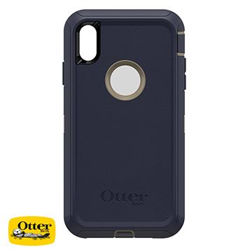 【iPhone XS Max】OtterBox Defender防摔殼 - 藍色