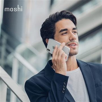 【iPhone XS Max】Moshi Vitros 超薄透亮背殼 - 透明