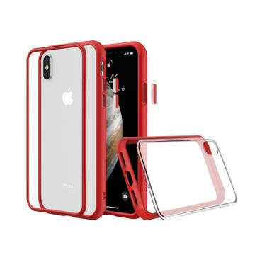 【iPhone XS】犀牛盾 RHINO SHIELD Mod NX防摔手機殼 - 紅色