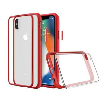 【iPhone XS Max】犀牛盾 RHINO SHIELD Mod NX防摔手機殼 - 紅色