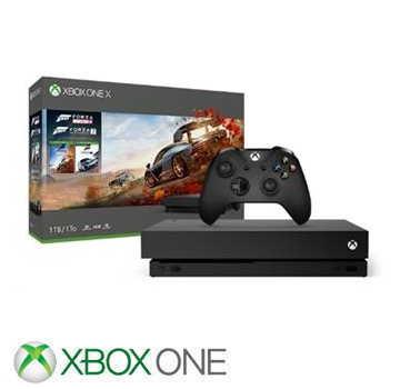「同捆組」【1TB】XBOX ONE X 極限競速:地平線4 Forza Horizon 4 主機