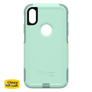 【iPhone XR】OtterBox Commuter防摔殼 - 粉綠