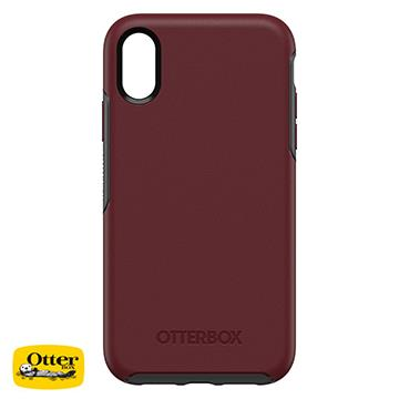 【iPhone XR】OtterBox Symmetry防摔殼 - 深紅