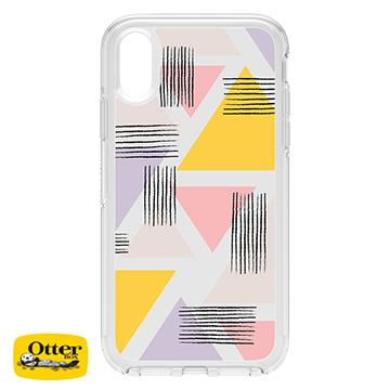 【iPhone XR】OtterBox SymmetryClear防摔殼 - 繽紛