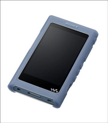 SONY A50系列 MP3專用皮套(藍)