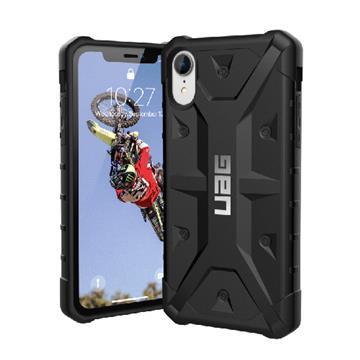 【iPhone XR】UAG 耐衝擊保護殼 - 黑色