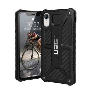 【iPhone XR】UAG 頂級版耐衝擊保護殼 - 碳黑