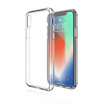 【iPhone XR】JTLEGEND 雙料減震保護殼 - 透明
