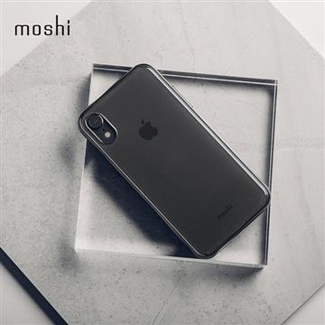 【iPhone XR】Moshi Vitros 超薄透亮背殼 - 黑色
