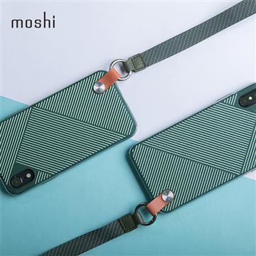 【iPhone XR】Moshi Altra 腕帶保護背殼 - 綠色