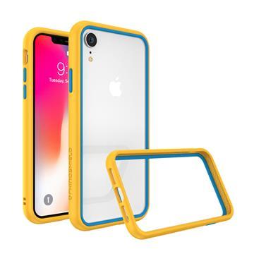 【iPhone XR】犀牛盾 RHINO SHIELD CG NX防摔邊框 - 黃藍