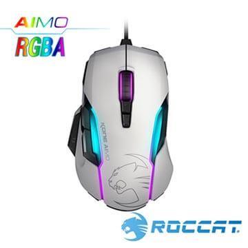 ROCCAT Kone-AIMO魔幻系列RGBA電競滑鼠-白