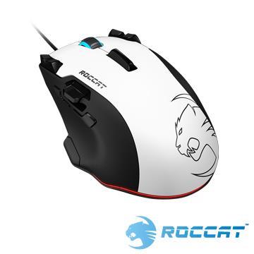 ROCCAT Tyon雷射電競滑鼠-白