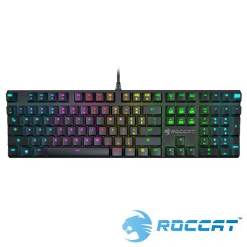 ROCCAT SUORA RGB電競鍵盤(青軸中文)