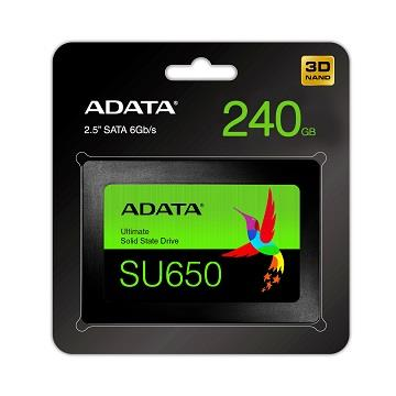 【240GB】ADATA 威剛 2.5吋  3D NAND固態硬碟