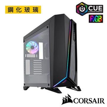 CORSAIR SPEC OMEGA RGB 鋼化玻璃機殼-黑 CCSpecOmegaRGB-BK