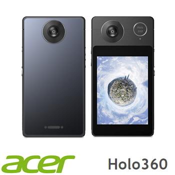 【福利品】Acer 宏碁 HoLo 360智慧型全景相機  - 灰色 HoLo 360