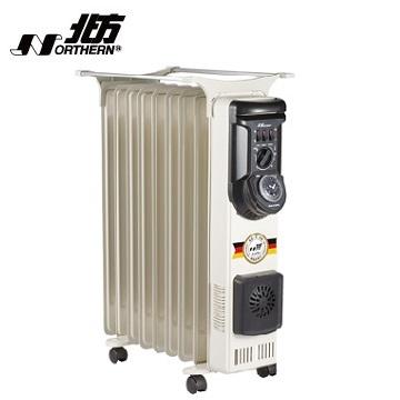 北方9片葉片式電暖器 NA-09ZL